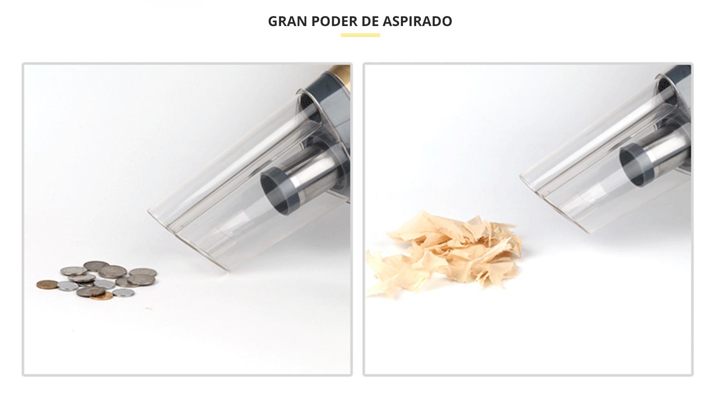 Aspiradora portátil para agua y polvo