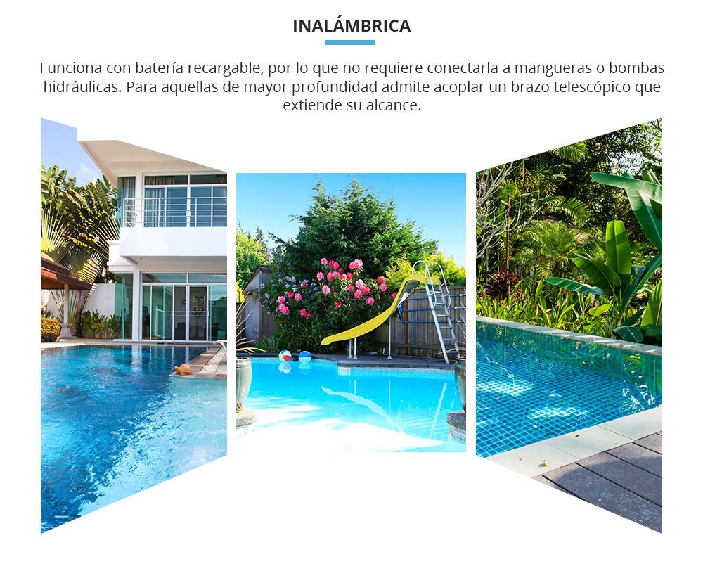 Aspiradora para piscina AquaJack 211