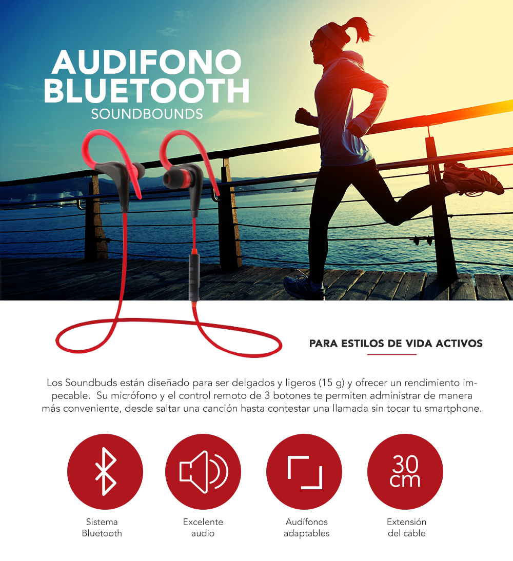 Audifono Bluetooth
