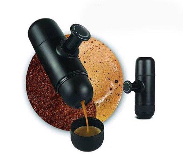 Mini Cafetera de Mano Portátil