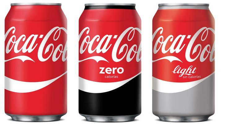 Pack 24 o 48 latas de Coca-Cola Regular, Zero o Light