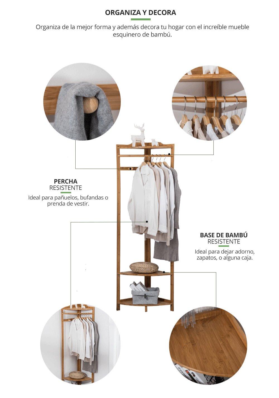 Mueble Esquinero bambu
