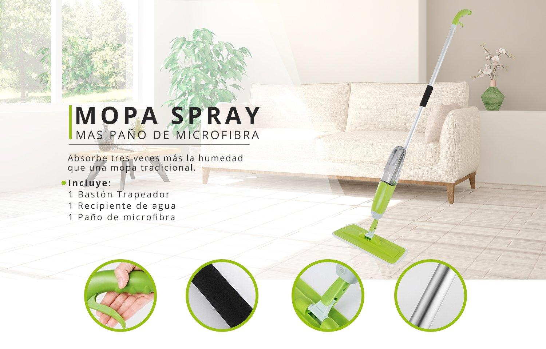 Mopa Spray mas paño de microfibra