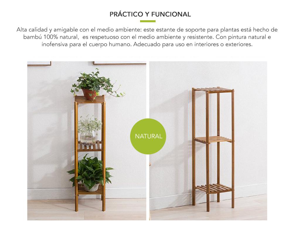 Rack bamboo 3 niveles