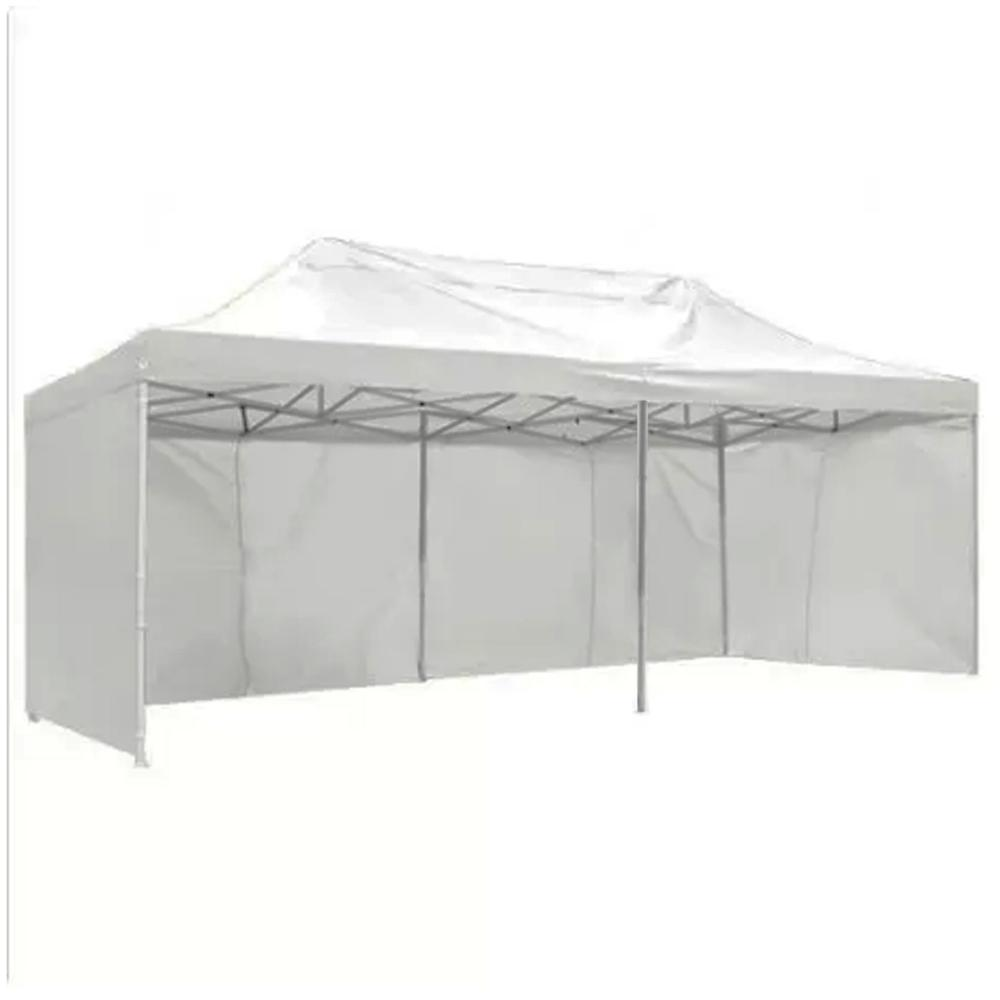 Toldo plegable 3x6 mts. Color Blanco